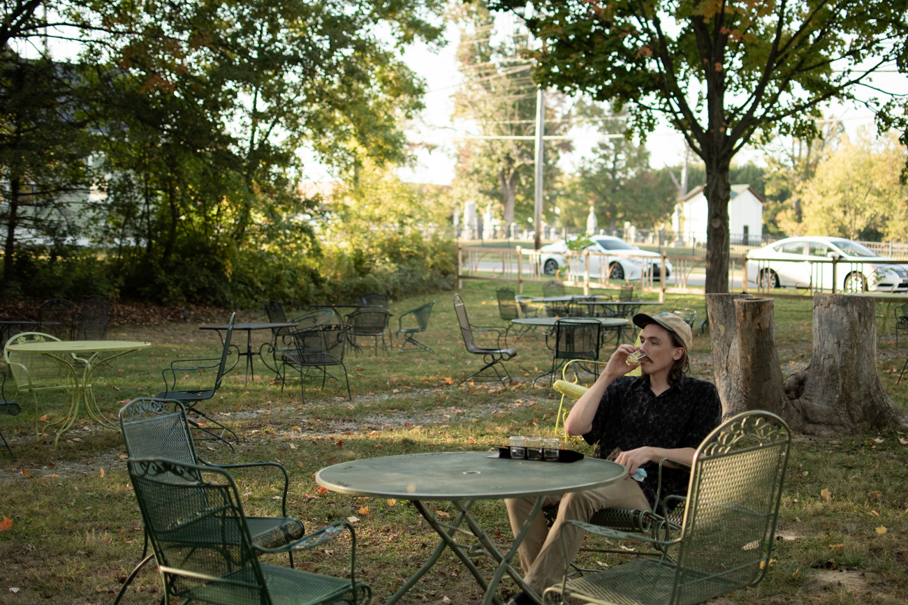 The beer garden was opened in June 2020 to accommodate outdoor seating due to COVID. / Image: Shea Renusch // Published: 11.3.20