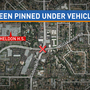 Police: Boy, 13, on bike pinned under SUV just as school ends at nearby high school