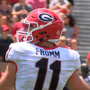 Jake Fromm enters game at QB for UGA vs. Appalachian State