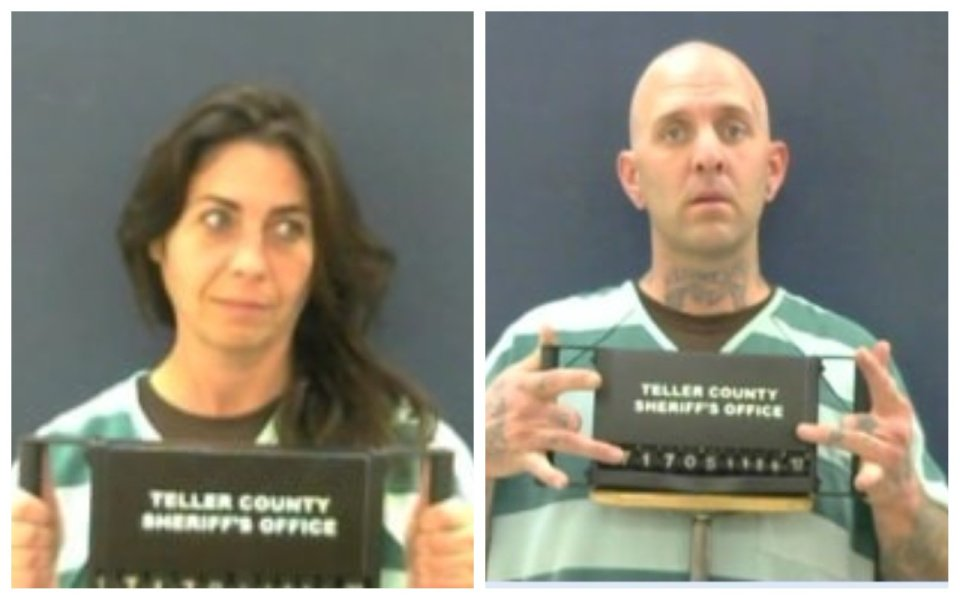 Jane Cravens and Shawn Langley. (Teller County Sheriff's Office)