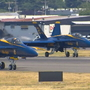 Blue Angels thunder into Seattle Monday morning