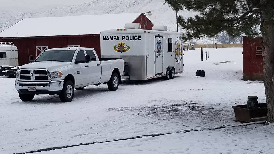 Nampa Bomb Squad responds to explosives found in Washington County