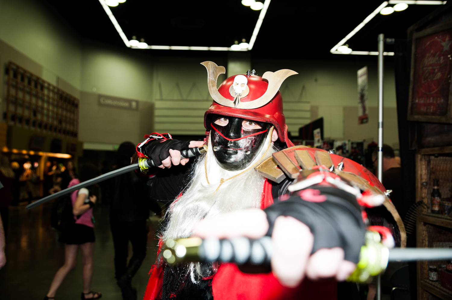 Rose City Comic Con is the premier comic book and pop culture convention in Portland, Oregon. Hundreds flood the city dressed as their favorite characters, many of whom have put days and incredible effort into their makeup and costumes. Don't believe us? Check out these pictures – incredible, right? (Image: Elizabeth Crook / Seattle Refined)