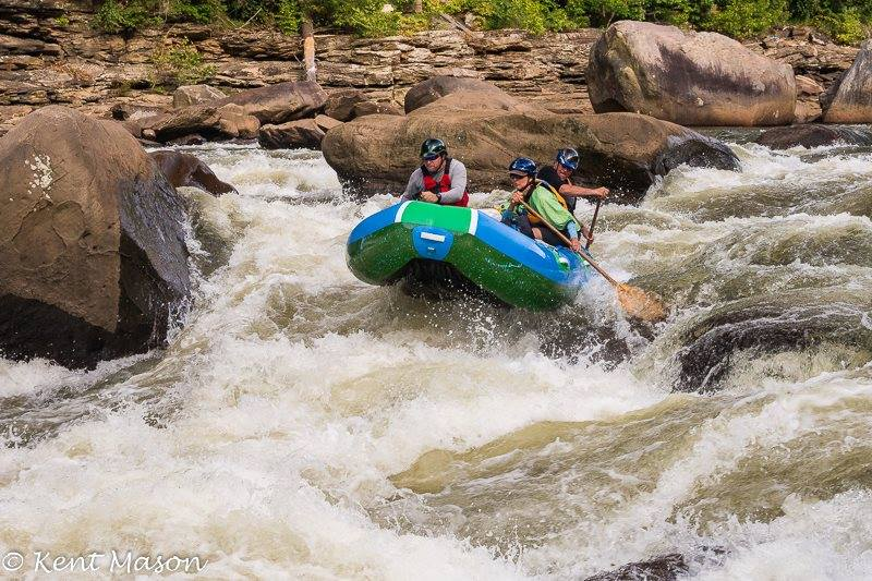 The Cheat River has always been known for epic rapids, and was the first commercially rafted river in West Virginia. (The Friends of the Cheat)<p></p>