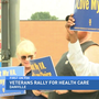 Danville veterans rally for healthcare