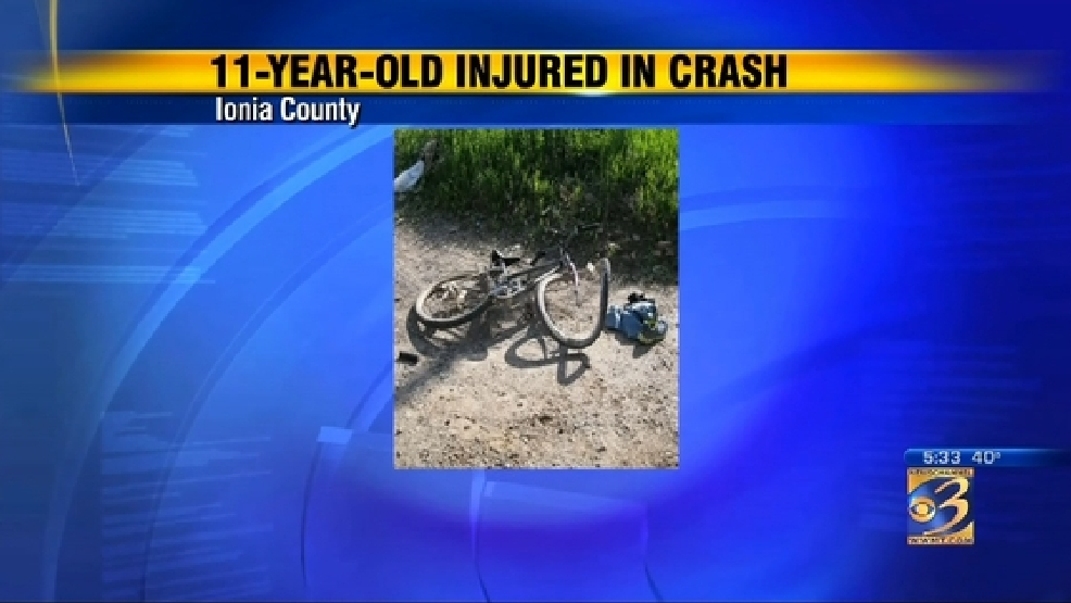 Boy on bike hits pick-up in Ionia Co  | WWMT