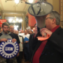 Union official files complaint against lobbyist over status