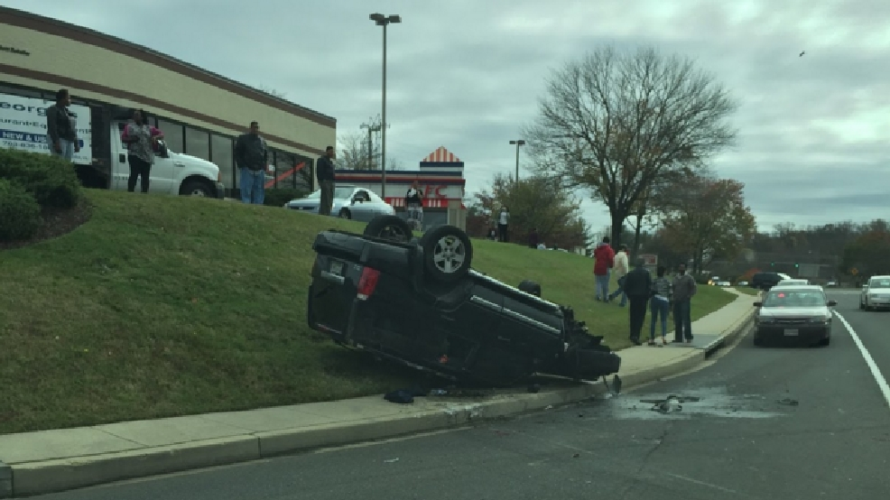 Father Flips Car Runs Half Mile To Get To Children In