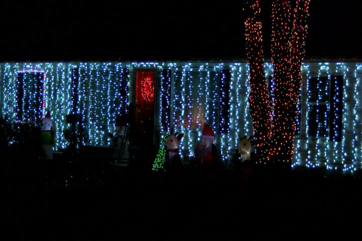 Owosso family uses 23,000 Christmas lights to create the ultimate light display (Photo Credit: James Tyler)