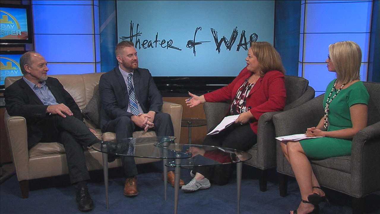 Nick Stefonovic from The Veterans Outreach Center and actor Zach Grenier joined Good Day Rochester Friday.
