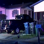 Police: Man set garage on fire, ran over son who attempted to save mom being assaulted