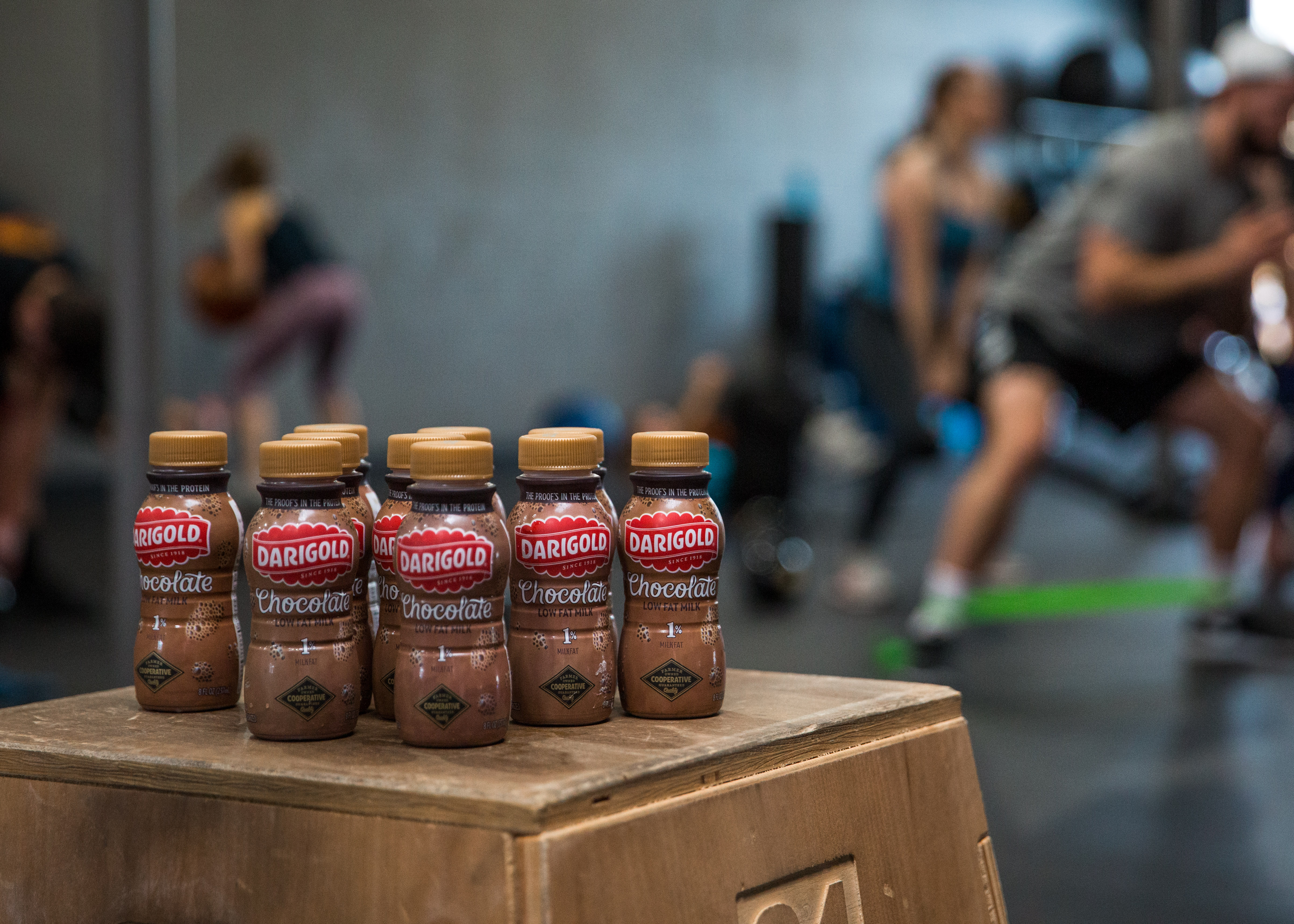 "Research shows that chocolate milk is ""optimal for exercise recovery"" and that athletes could push longer and harder when drinking chocolate milk over other popular sports drinks. The athletes at Experience Momentum seem to agree!"