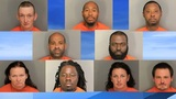Nine charged during Lake City drug bust