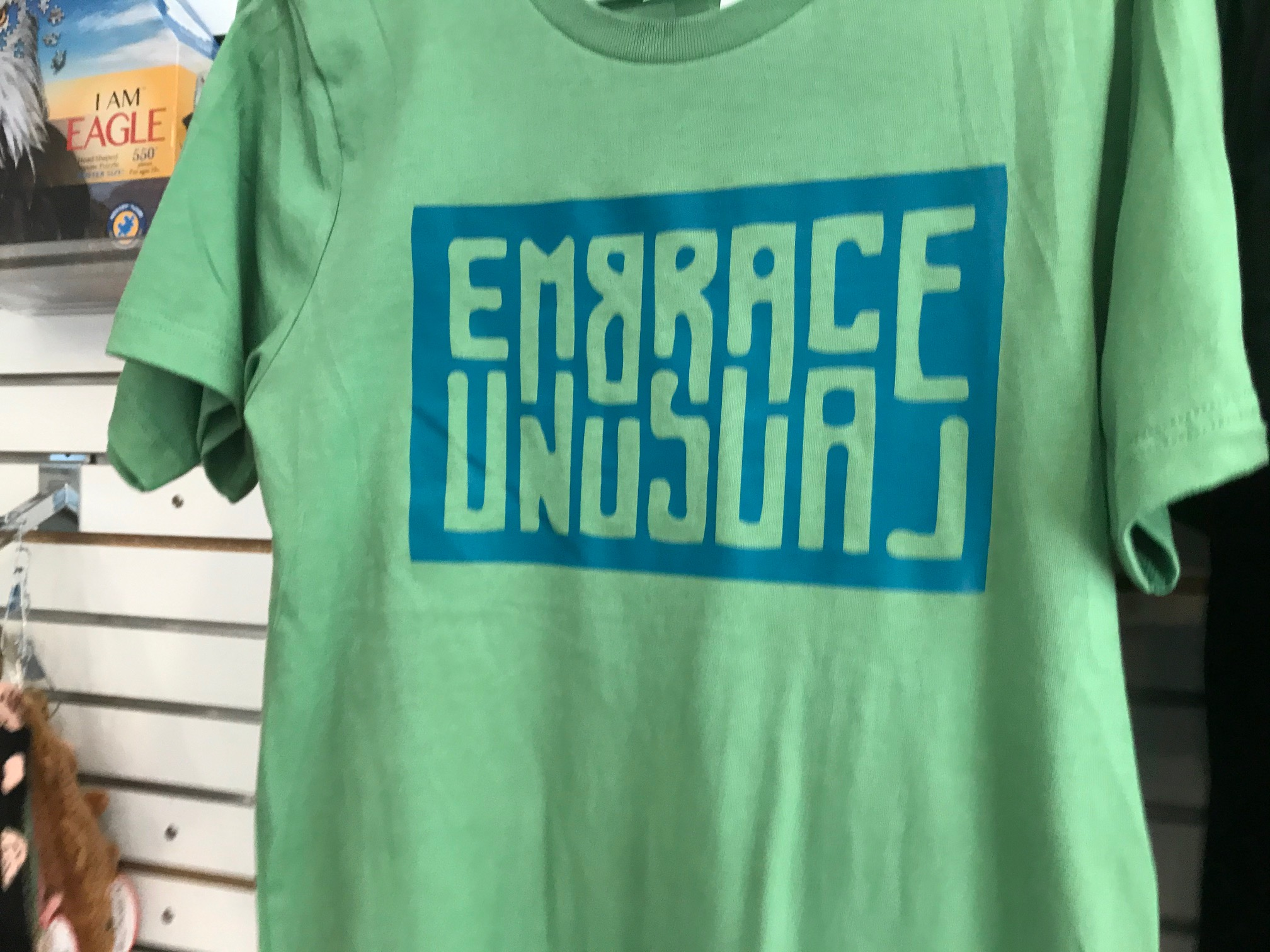 "During the pandemic the Haywood County Visitors Center is promoting an ""Embrace Unusual"" campaign, letting folks know they can come to a place like this and enjoy the great outdoors and still keep a lot of social distance. (Photo credit: WLOS Staff)"
