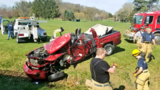 LUCKY TO BE ALIVE | Train, vehicle crash in Jackson Township
