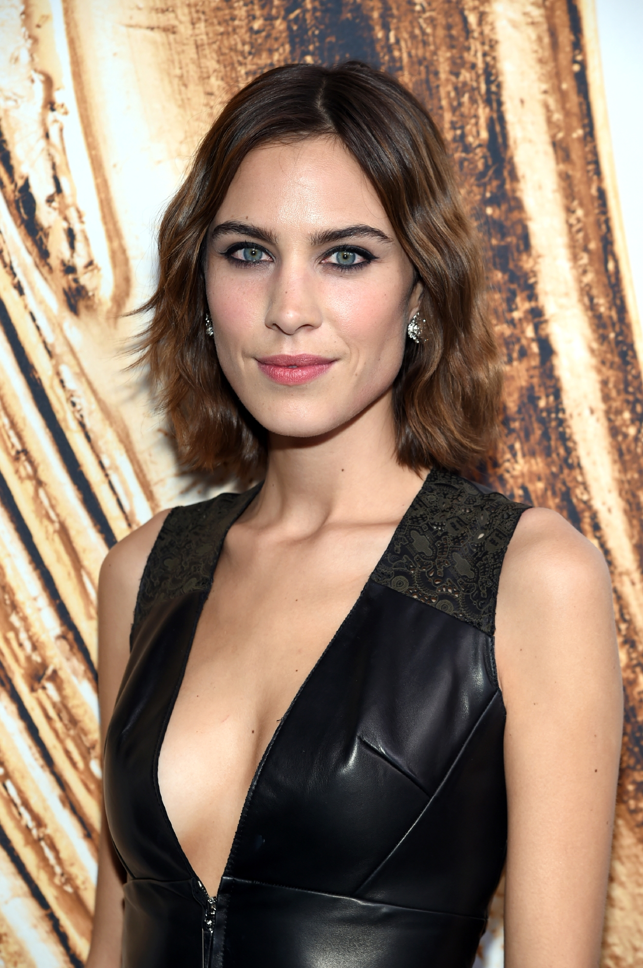 Alexa Chung poses at the CFDA Fashion Awards at the Hammerstein Ballroom on Monday, June 6, 2016, in New York. (Photo by Evan Agostini/Invision/AP)