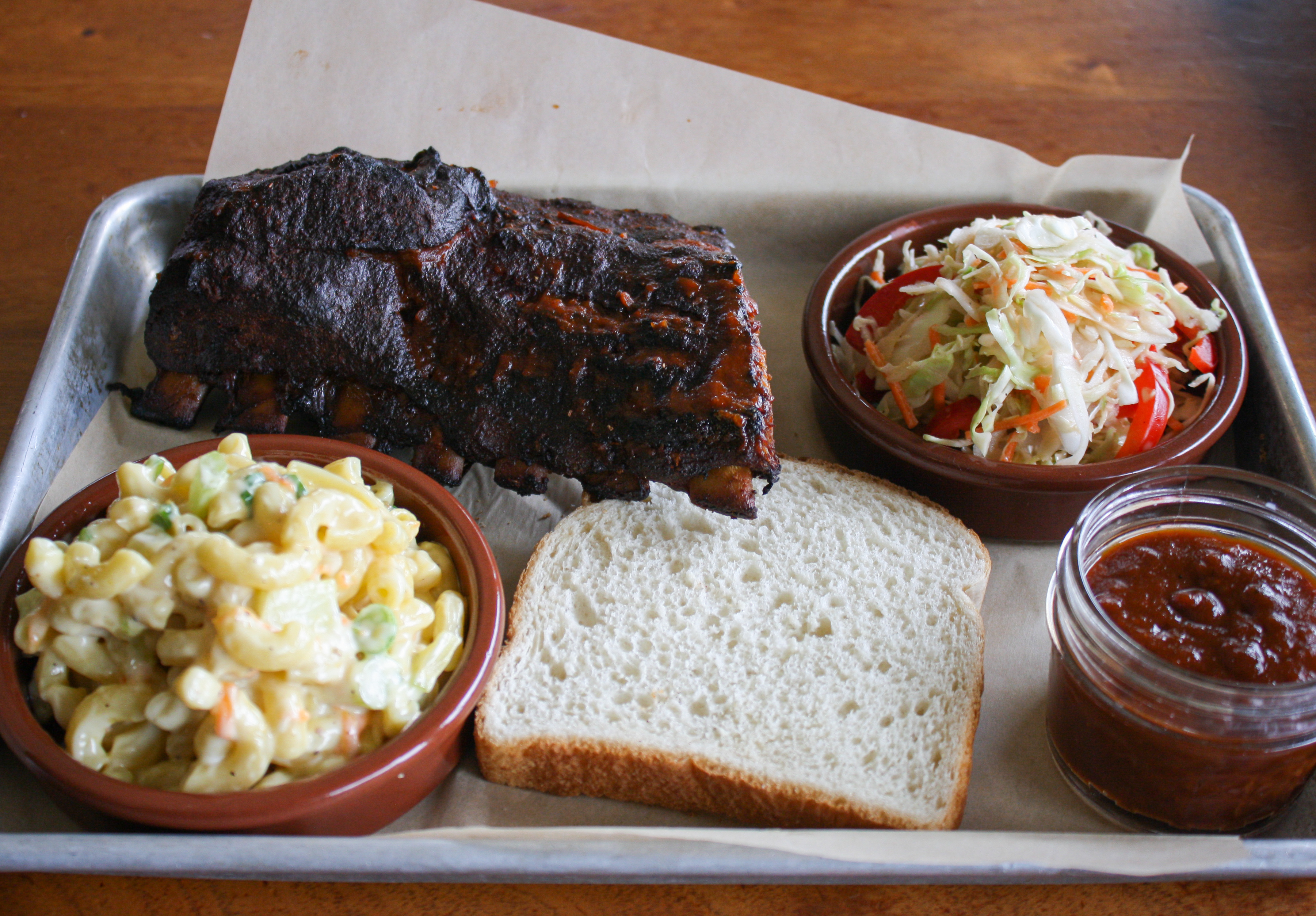 G&H Pig Palace rib platter (Image: Chow Foods)