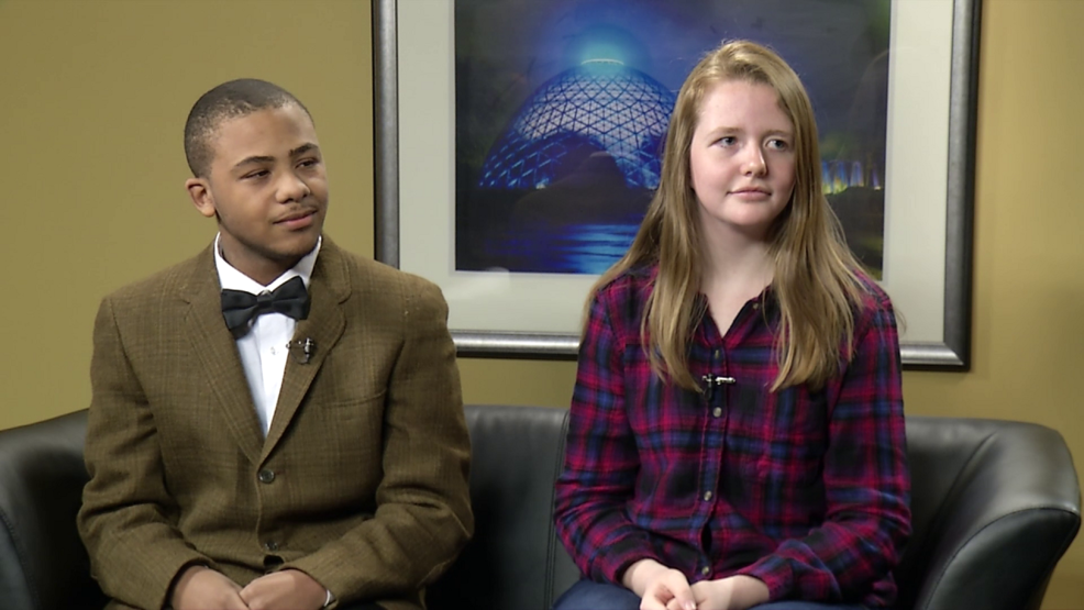 Marvell Reed and Linnea Stanton, Outreach, March For Our Lives.png