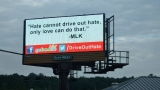Drive Out Hate billboards in Tennessee push message of love