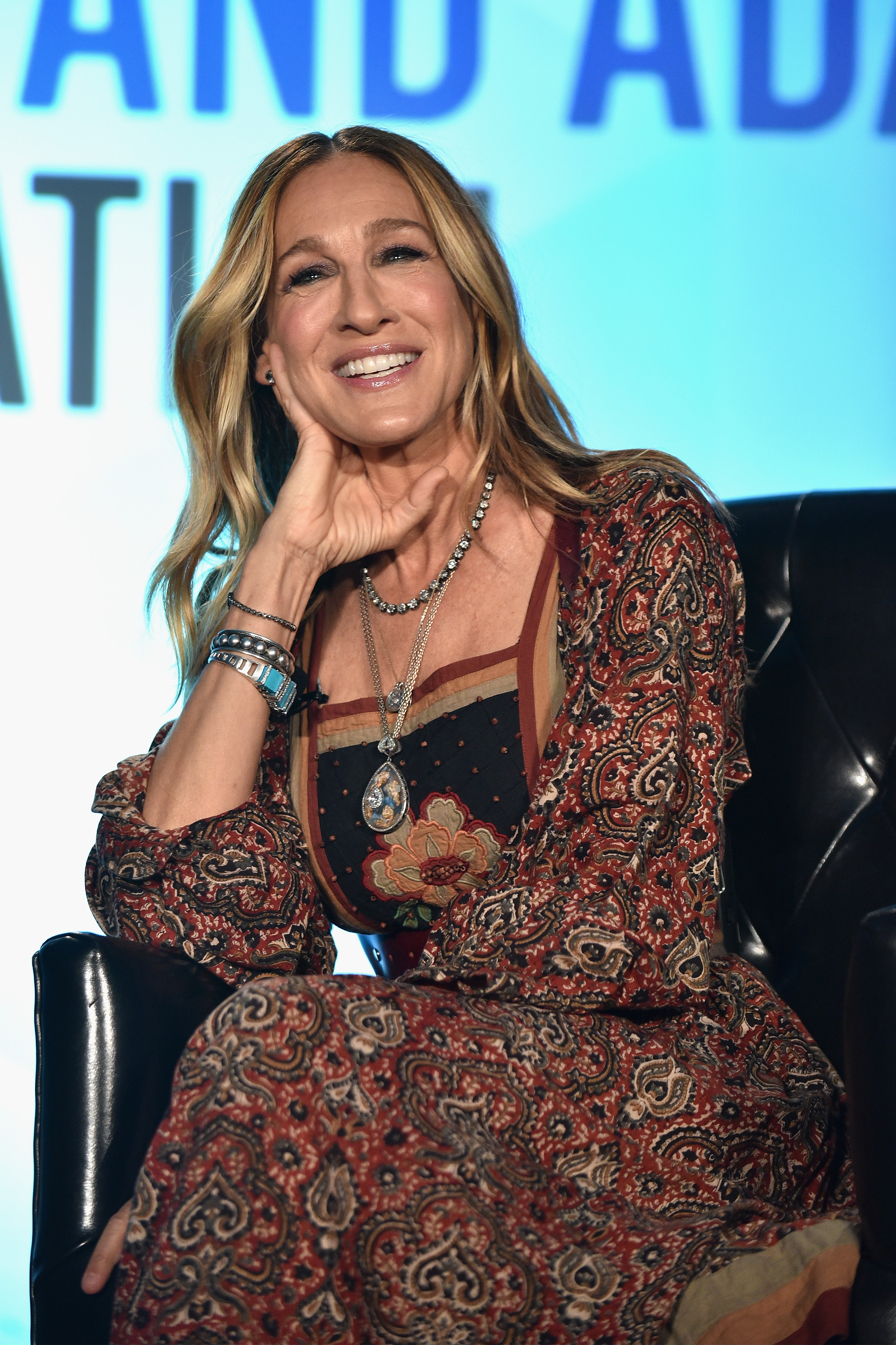 4th Annual Vulture Festival at Milk Studios in New York City                                    Featuring: Sarah Jessica Parker                  Where: New York, New York, United States                  When: 21 May 2017                  Credit: Supplied by WENN                                    **EDITORIAL USE ONLY**