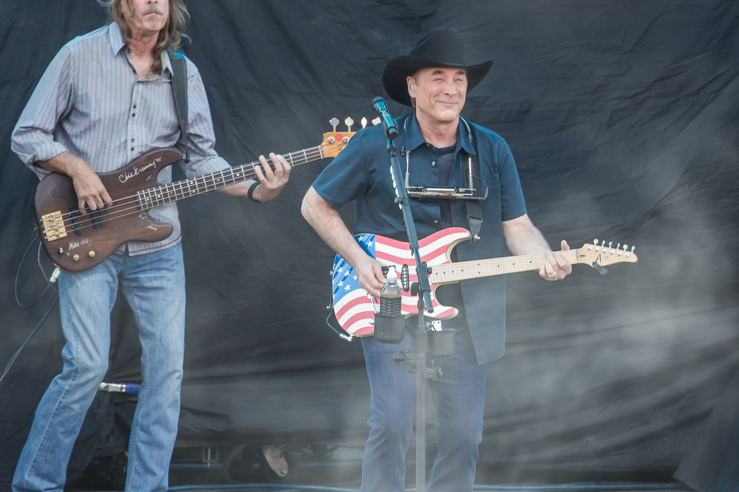 Clint Black at the Watershed Music Festival 2018 at The Gorge Amphitheatre. (Photo by David Conger / davidconger.com)
