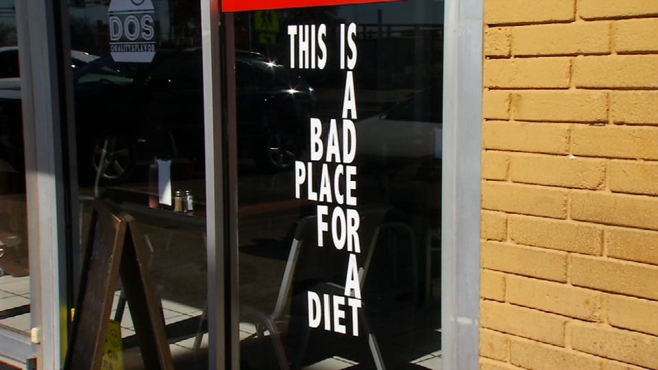 Without any doubt this is not a place for a diet. (News 4 San Antonio)<p></p>