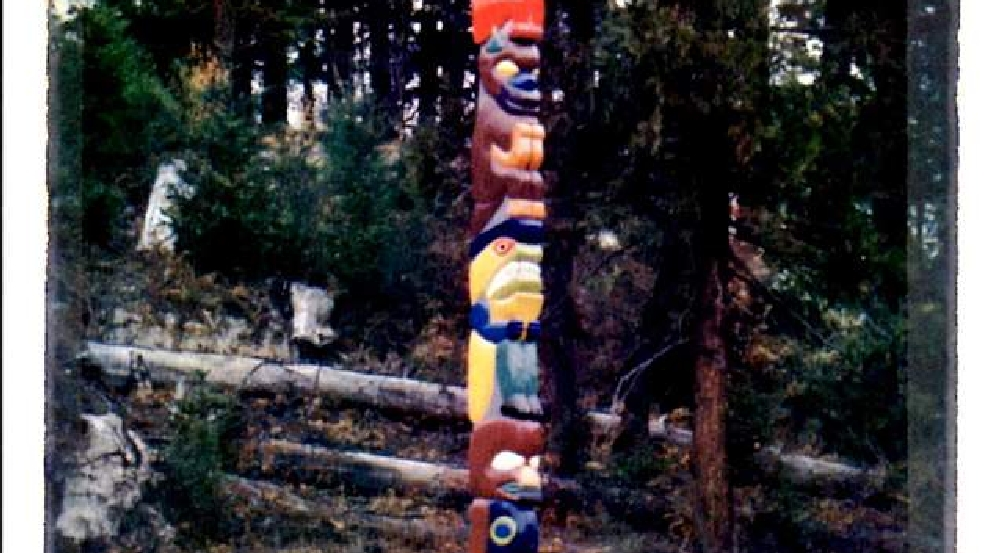 Lost Villages which once existed where is now Lost Creek Reservoir. Photo Courtesy Dennis Ellingson -Totem Pole Uncanny Canyon