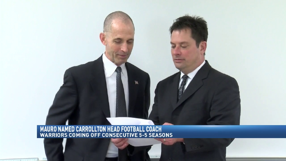 2.23.17 Video- Carrollton hires Phil Mauro as head football coach