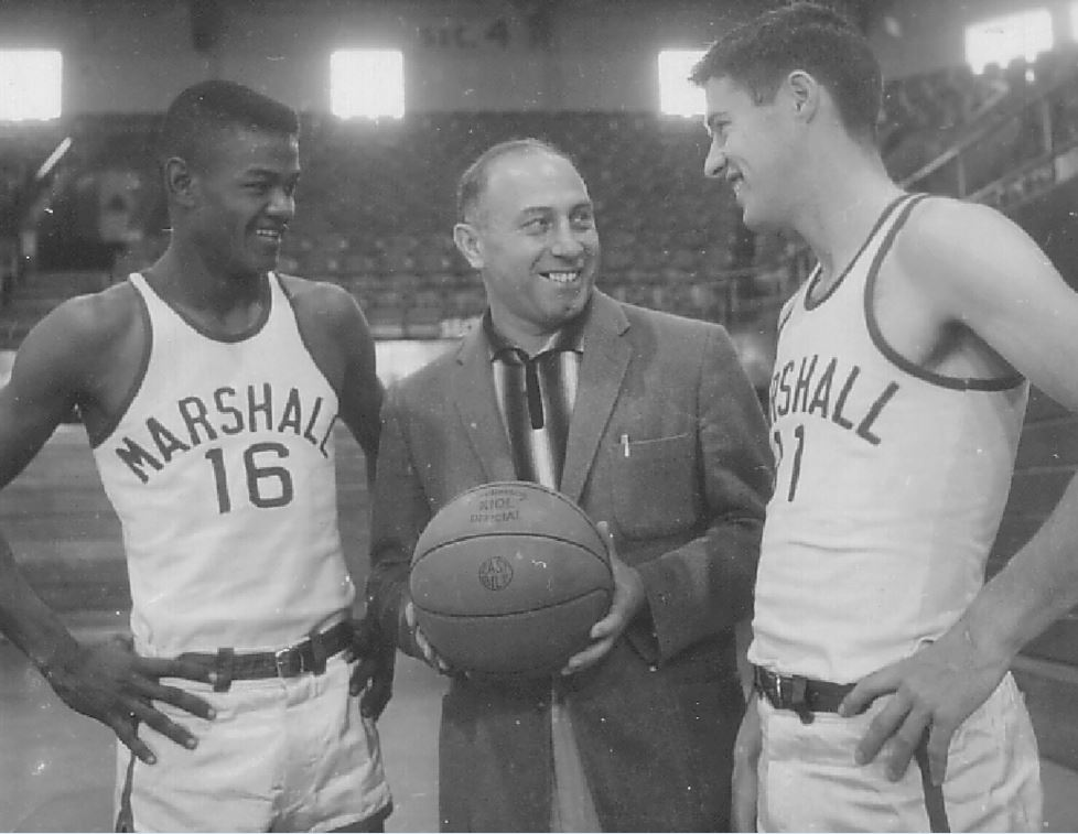 Hal Greer was inducted into the Marshall University Athletics Hall of Fame in 1985. (Marshall University Athletics){ }