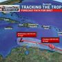 Tropical Storm Bret forms by Leeward Islands