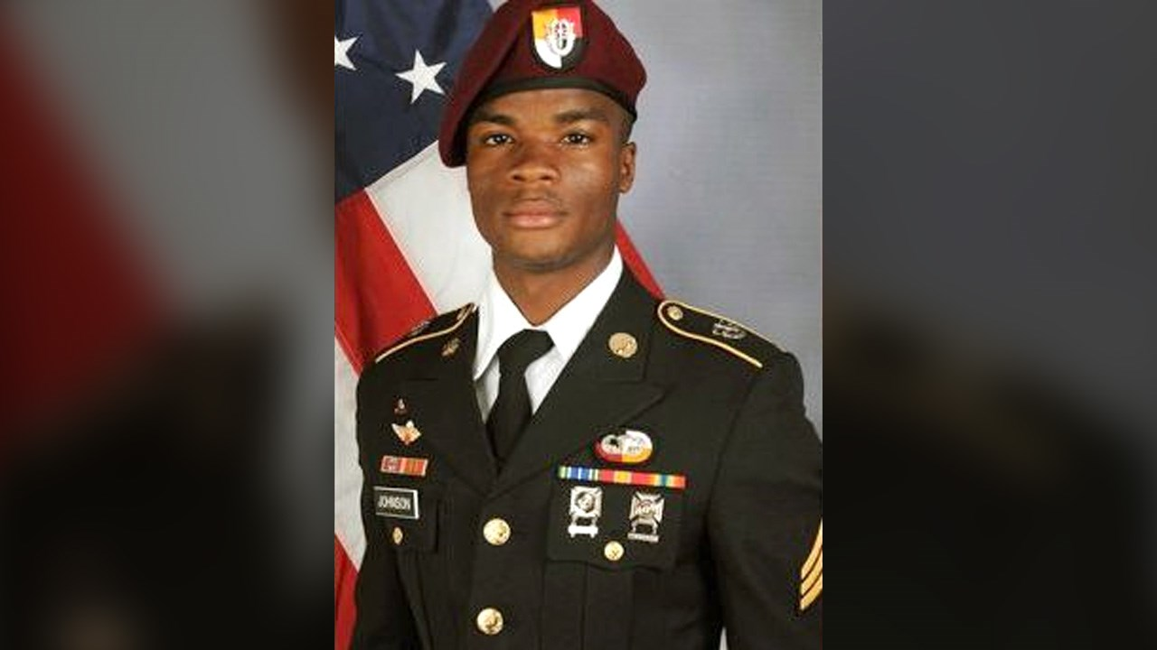 Sgt. La David T. Johnson, 25, of Miami Gardens, Fla., was one of four U.S. soldiers killed in Niger. (U.S. Army/MGN)