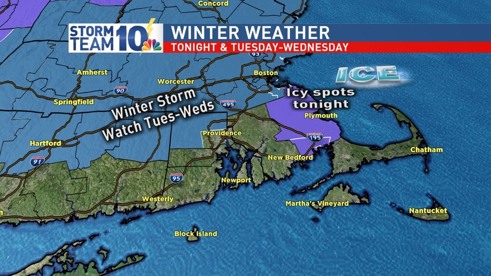 Next round of winter weather arrives Tuesday night