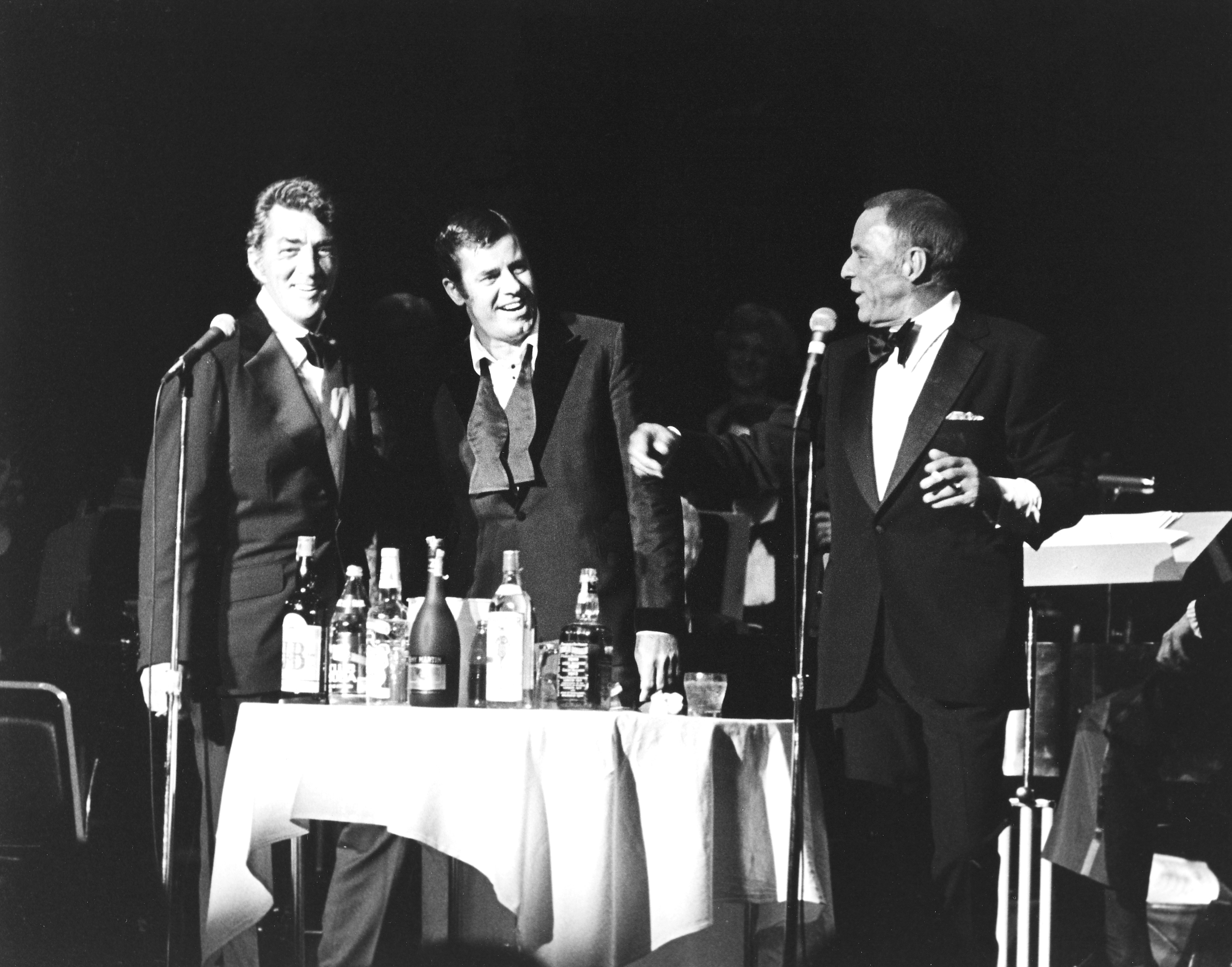 Dean Martin, Jerry Lewis, Frank Sinatra at the Aladdin 08/23/77