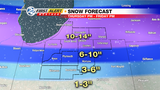 WSBT 22 First Alert Weather: Storm will bring a foot of snow in spots