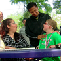 Boy who had heart transplant meets donor's family