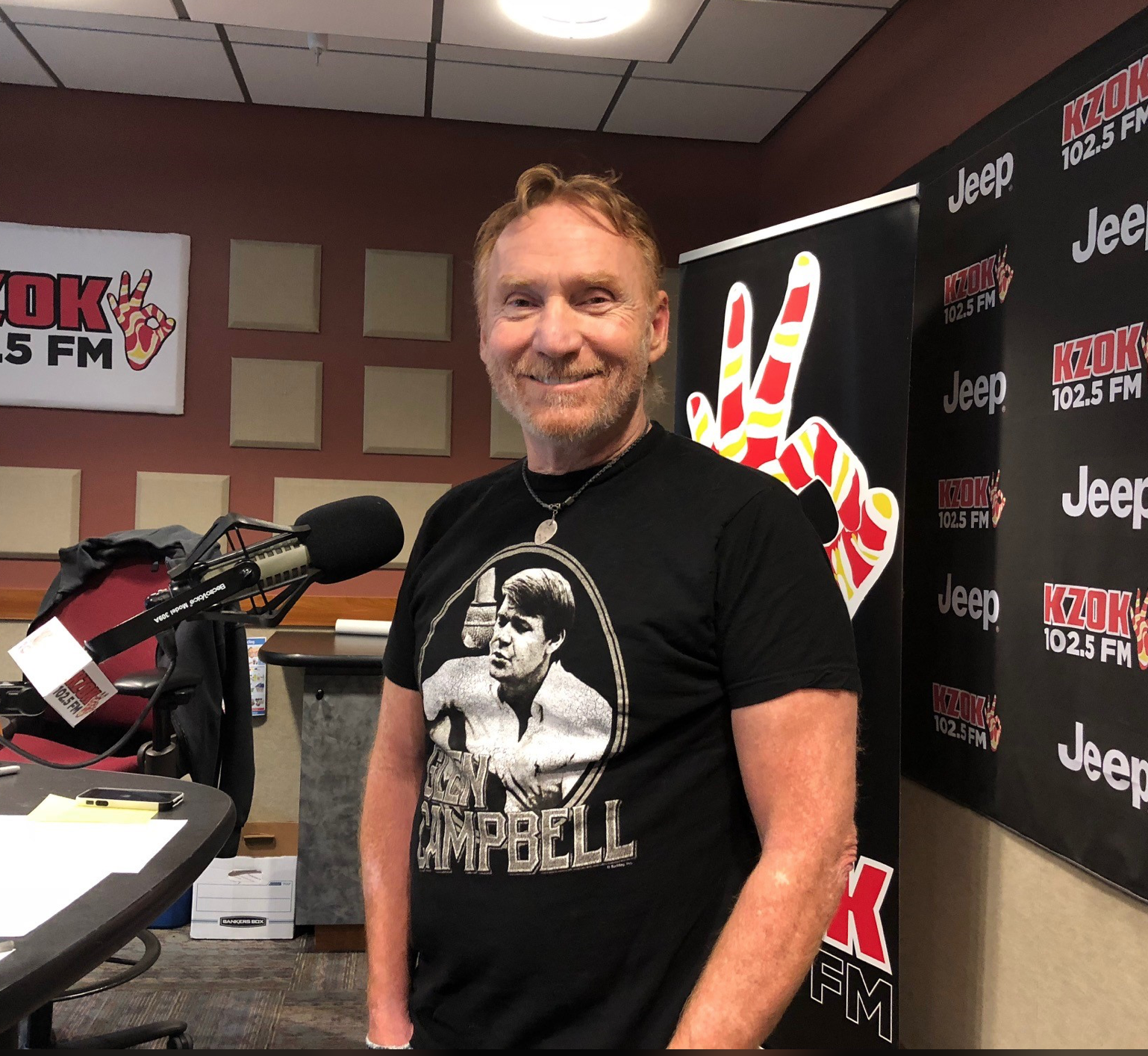 We're all working from home these days, including Seattle based DJ/actor/musician Danny Bonaduce. He became a bona fide star in the 1970's thanks to his role as wisecracking middle kid 'Danny Partridge' on the hit show 'The Partridge Family.' Since then, he's never slowed down! (Photo: Seattle Refined)<br><p></p>