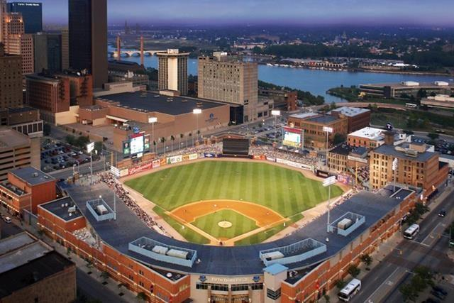 Fifth Third Field is home of the Toldeo Mud Hens, Class AAA affiliate of the Detroit Tigers and the team made famous by Jamie Farr (Cpl. Klinger) in M*A*S*H.