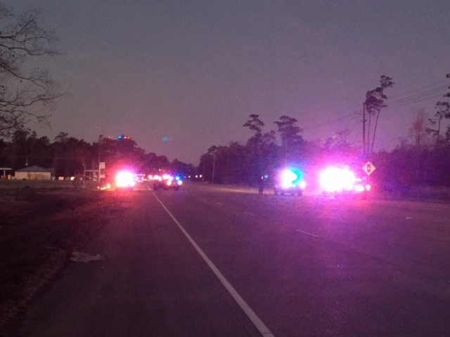 One person killed in early morning accident on Hwy 105.<p></p>