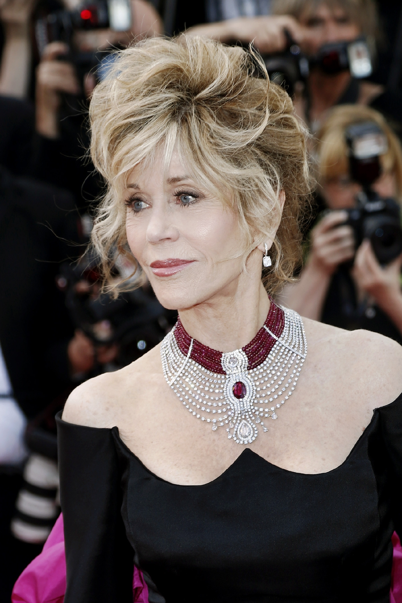 "Jane Fonda arrives at the premiere of ""Youth"" at the 68th Annual Cannes Film Festival in Cannes, France on May 20, 2015. (Credit: KIKA/WENN.com)"