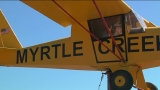 Myrtle Creek Airport sports new addition