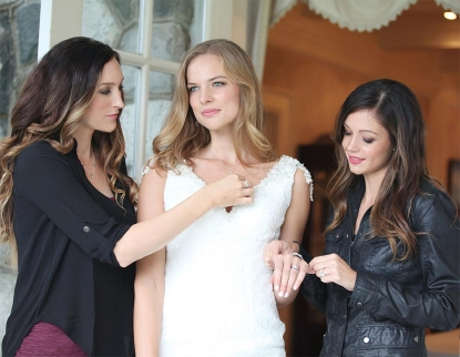Former Bachelorette Desiree Hartsock launches her bridal