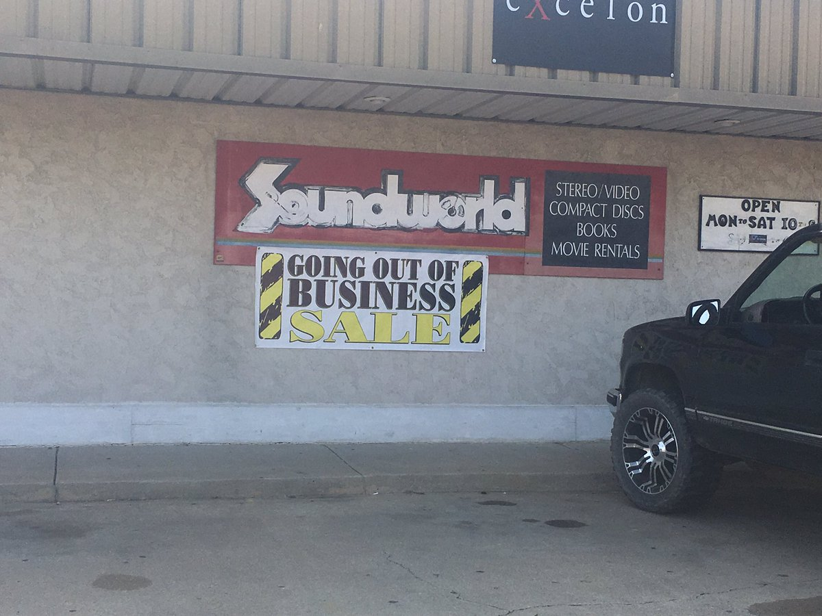 After 40 years of memories, Soundworld is closing for good. (KTUL)
