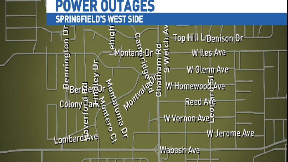 Cwlp Power Outage Map.Cwlp Responding To Power Outages Wics