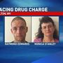 Two arrested on drug charge in Milton