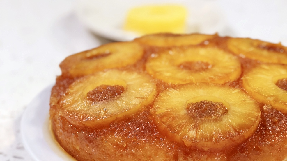 Pineapple Upside Down Cake In A X Pan