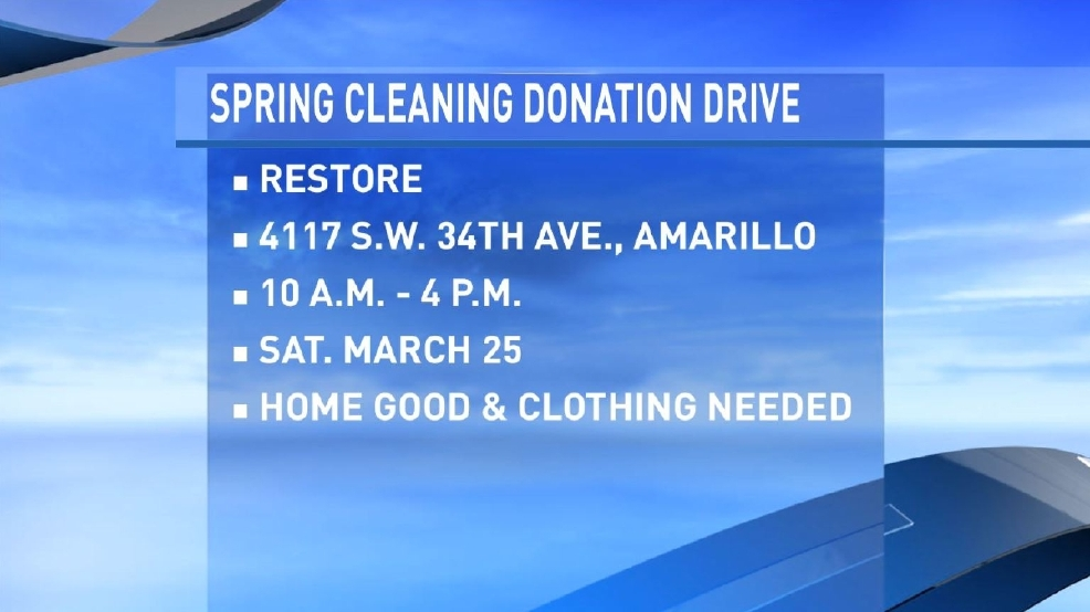 Two Amarillo Non Profits To Benefit From Donation Drive At