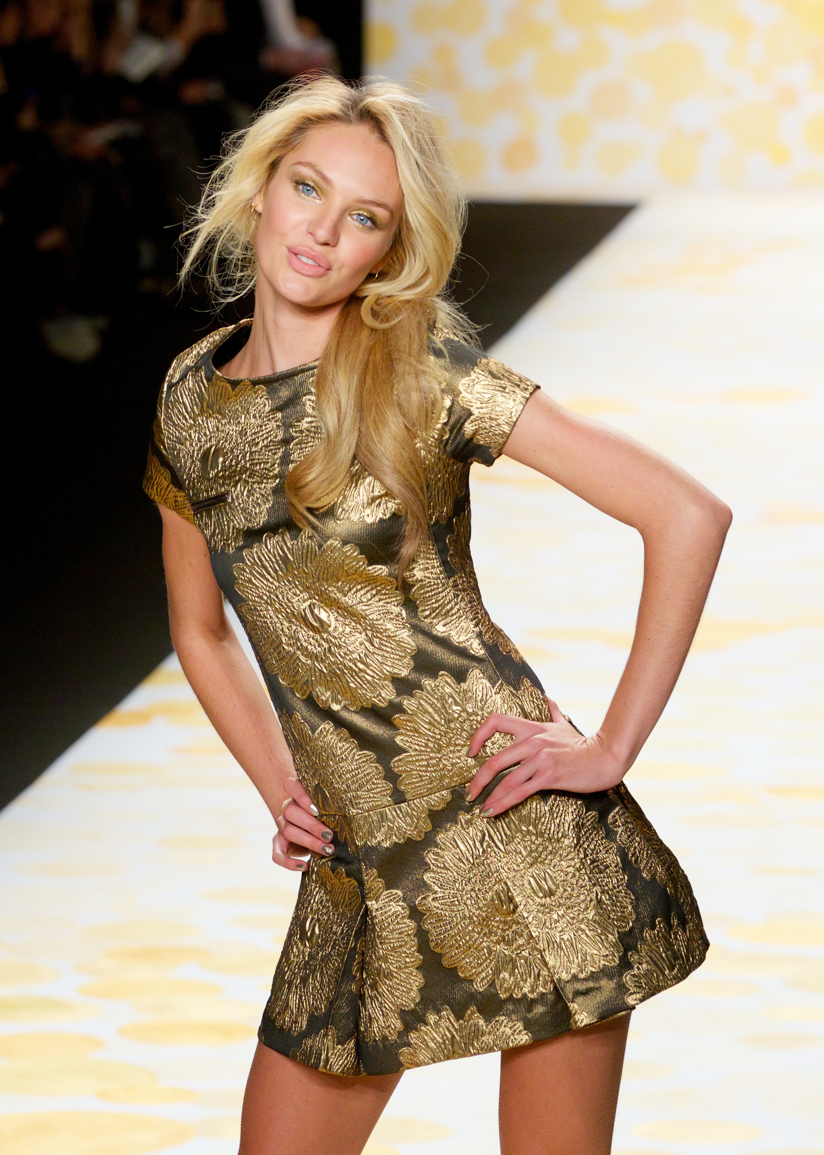 d3ccc562750 DESIGUAL Fashion Show at the Theater in Lincoln Center in New York City  Featuring  Candice