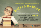 Read a Book. Save for College. Build a Better World!