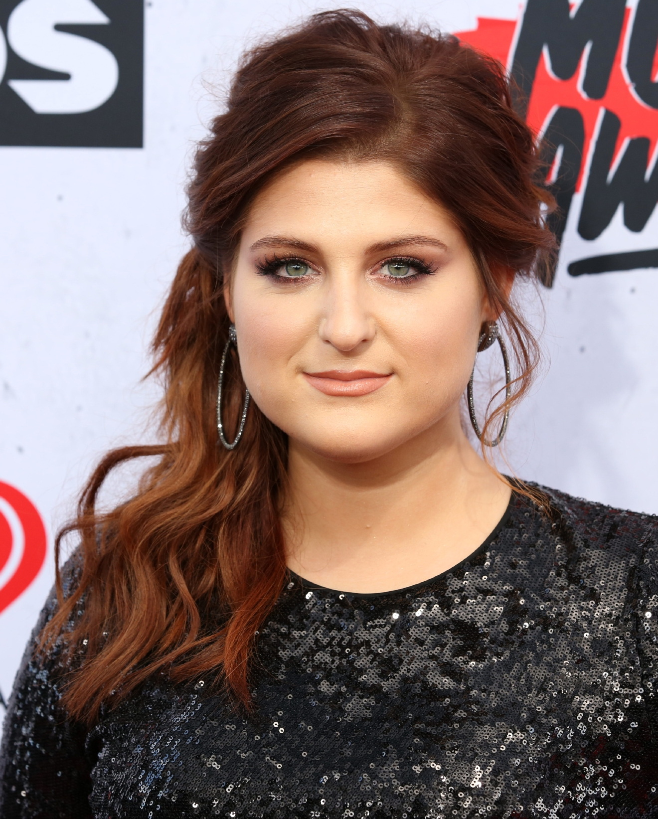 Celebrities attend iHeartRadio Music Awards at The Forum.  Featuring: Meghan Trainor Where: Los Angeles, California, United States When: 04 Apr 2016 Credit: Brian To/WENN.com