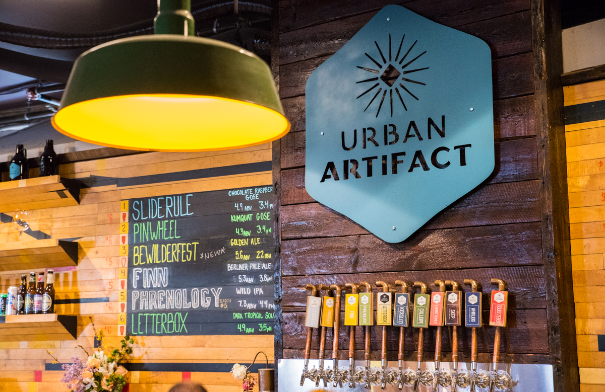 "Urban Artifact, the Northside brewery known for its ""wild"" beers, hosted its two-year anniversary party on Saturday, April 22. ADDRESS: 1660 Blue Rock St. (45223) / Image: Sherry Lachelle Photography // Published: 4.23.17"